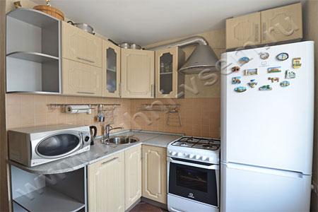 Кухня Кухня из МДФ «Дуб Лисса»