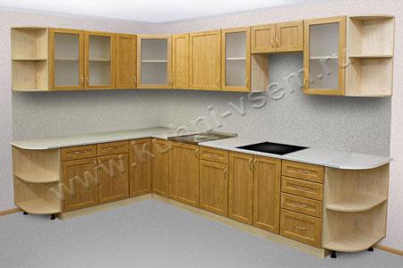 Условная кухня из МДФ-рамка