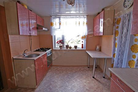 Кухня из пластика «Гранат Средиземноморский»
