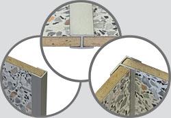 Планки соединительные для стеновой панели