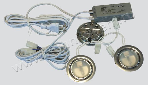 Как заменить галогеновую лампу в точечном светильнике на светодиодную