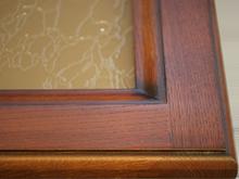 Профиль фасада-витрины Дуб-Вишня