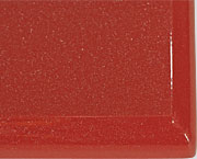 Профиль МДФ Красный металлик