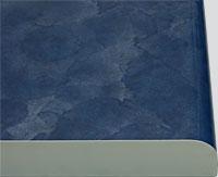 Кухонный фасад из пластика Камень синий