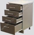 Модель кухни Кареглазка: Кухонный стол 500 с ящиками
