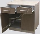 Модель кухни Кареглазка: Кухонный стол 800 с ящиками