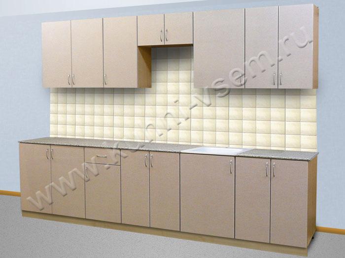 кухни из пластика образцы фото